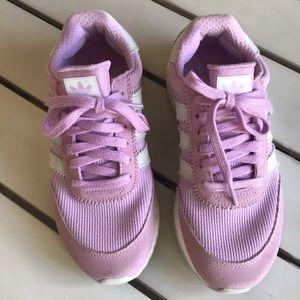 Adidas Sz 6.5 lavender pink suede Athletic Shoes